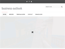 Tablet Preview of businessoutlook.co.uk